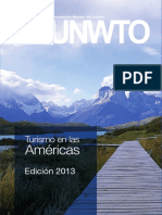 Turismo en Las Americas Omt 2013
