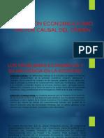 Condición Economica Como Factor Causal Del Crimen