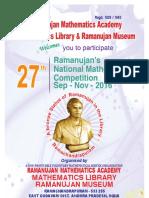 27TH RAMANUJAN TALENT TEST (2).pdf