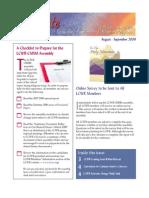 August-September 2008 Leadership Conference of Women Religious Newsletter