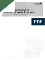 Masteropleiding Transactionele Analyse