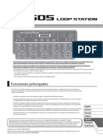 Loop Station RC-505 Boss (Manual de usuario)