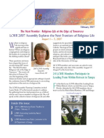 February 2007 Leadership Conference of Women Religious Newsletter