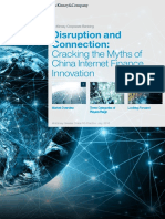 Disruption and Connection Cracking the Myths of China Internet Finance Innovation