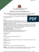 Decreto Estadual 12.342-1978 - Código Sanitário.