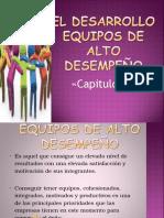 El Desarrollo EQUIPOS DE ALTO DESEMPEÑO.ppt