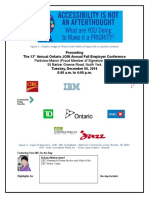 The 13th Annual Ontario JOIN Annual Fall Employer Conference