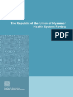Myanmar Health Systems Review