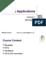 ECS Lecture1 Opamps AH