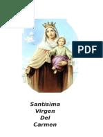 Novena Virgen Del Carmen. Para Impresión