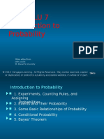 LU6 LU7 Introduction to Probability 2