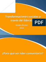 Transformaciones Sociales a Través Del Liderazgo Sandra Suárez