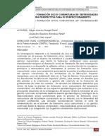 El Proceso de Formación Socio Comunitaria en Universidades Venezolanas