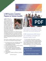August-September 2005 Leadership Conference of Women Religious Newsletter