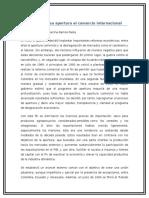 Colombia y Su Apertura Al Comercio Internacional