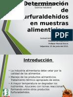 Determinación de Furfuraldehidos en Muestras Alimenticias