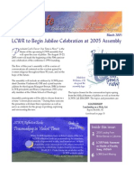 March 2005 Leadership Conference of Women Religious Newsletter