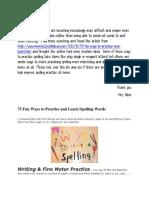 ways to practice spelling