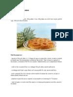 Prajitura Cu Ananas