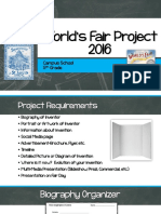 worlds fair project 2016