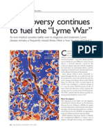 """Controversy Continues to Fuel the """"Lyme War"""""""