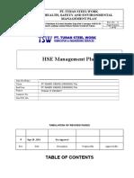 HES Management Plan TSW Rev