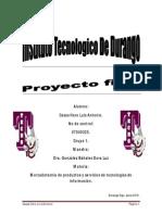 Proyecto Final Luis Antonio Casas Haro