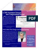 August-September 2004 Leadership Conference of Women Religious Newsletter
