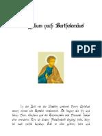 Bartholomäus Evangelium