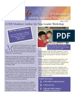 May 2004 Leadership Conference of Women Religious Newsletter