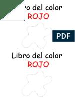 Libro Del Color Rojo