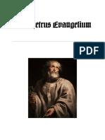 Das Petrus Evangelium