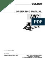 Sulzer Pump Operating Manual