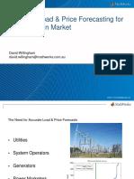 Load & Price Forecasting Webinar Slides Australia