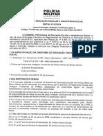 Edital Nr 01-2014 - De PMMG - Edital Para Inscrição No Colégio Tiradentes - 2015