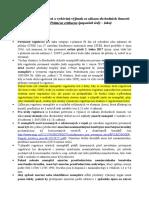 Metodické pokyny ministerstva životního prostředí krajským úřadům k registracím žaků