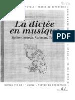 La Dictée en Musique 3