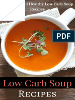 Low Carb Soup Recipes by Jaime White