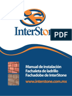 MANUAL Interstone