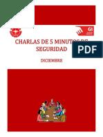 Charlas - Diciembre 2015