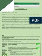 Planeacion Didáctica Unidad 3 Educaci[on Ambiental.