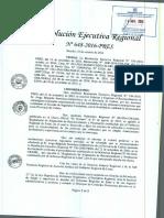 Nelson Chui le quitó reconocimiento a subprefecto de Cañete