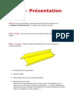 RDM - Présentation