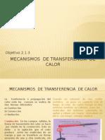 2.1.3Mecanismos de Transferencia de Calor
