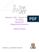 organic chemistry ii - chem 2262 - dr  spivak si portfolio