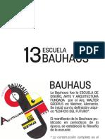 13 Bauhaus