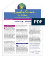 July 2008 Resolutions to Action Leadership Conference of Women Religious