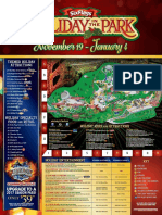 Six Flags Over Georgia's 2016 Holiday In The Park map