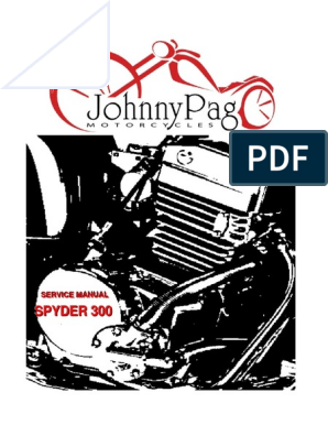 Hunter Spyder Service Manual pdf | Throttle | Headlamp