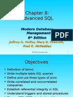 Chap08 - Advanced SQL
